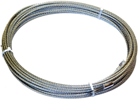 Image of WARN Galvanized Steel Rope 5/16in.  100 Feet - 38314
