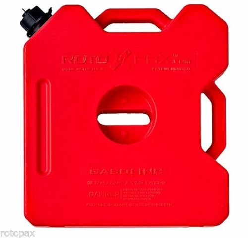 RotoPAX 3 Gallon Gas Container (Red) - RX-3G Garage MAD4X4