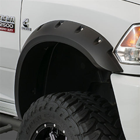 Bushwacker  40091-02 Fender Flares  Front Set Max Coverage Pocket Style Image 1 GarageMAD4X4