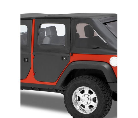 Bestop Rear Fabric Soft Doors 51799-35 GarageMAD4X4