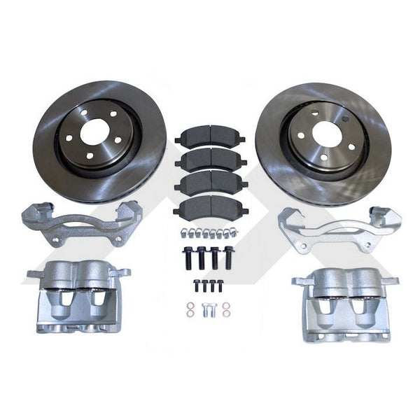 Crown Front Big Break Kit for Jeep JK RT31046 GarageMAD4X4