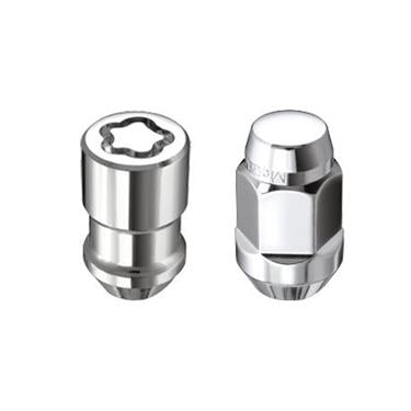 McGard - Bulge Cone 23-Piece 1/2-20 Hex Lug Nut Set Chrome - Garage MAD4X4
