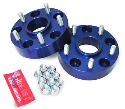 Spidertrax - Wheel spacer kit 5x5 1.5in - Garage MAD4X4