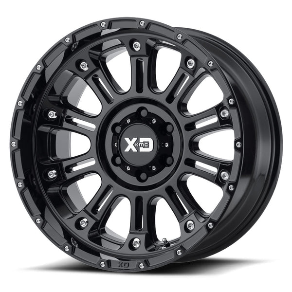 KMC WHEELS - Hoss 2 20x9 Gloss black - XD82929063312N