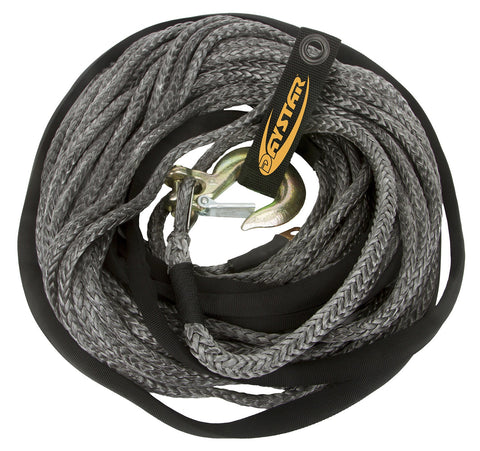 Image of Daystar 80ft Synthetic Winch Rope - KU10403BK