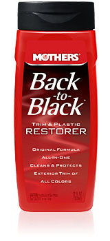 Mothers Back to Black trim and plastic restorer 06112 GarageMAD4X4