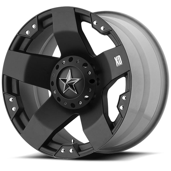 KMC  WHEELS - Rockstar Matte black - Garage MAD4X4