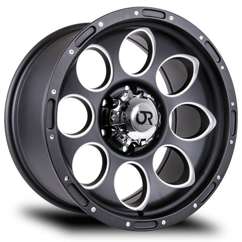 RTX WHEELS - Blast II Matte Black Milled - Garage MAD4X4