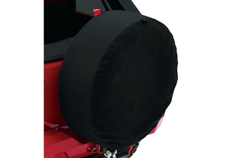 Bestop - 33in Spare Tire Cover Black Twill - Garage MAD4X4