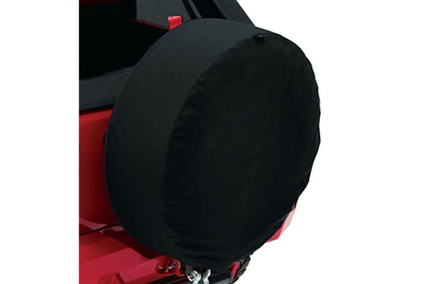 Bestop - 31in Spare Tire Cover Black Twill - Garage MAD4X4