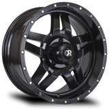 RTX WHEELS - Mesa Satin Black - Garage MAD4X4
