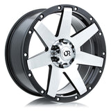 RTX WHEELS - Raider Black Machined - Garage MAD4X4