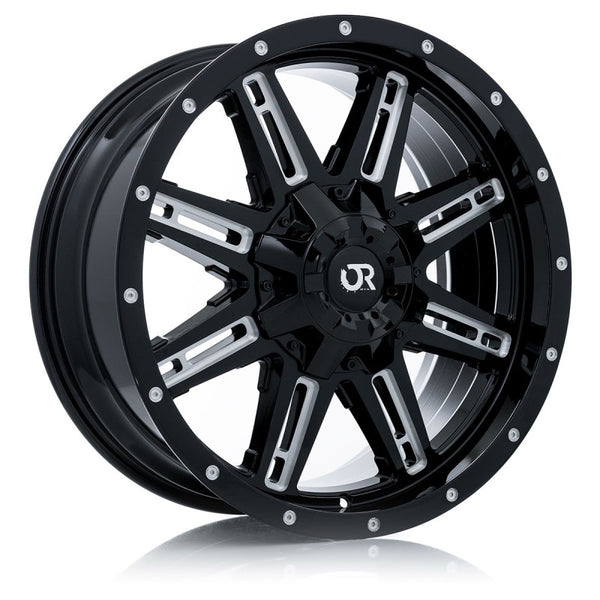 RTX WHEELS - Ravine Black Milled - Garage MAD4X4
