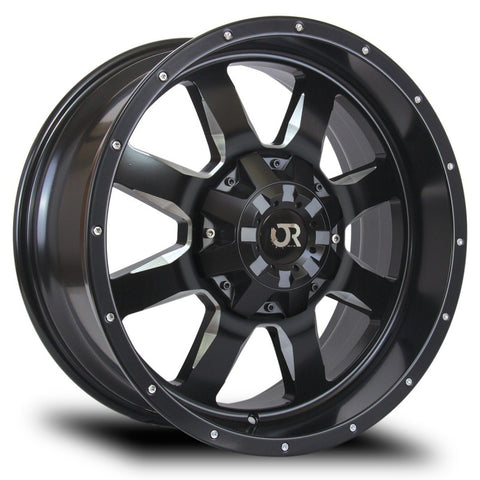 RTX WHEELS - Ridgeline Satin Black Milled - Garage MAD4X4