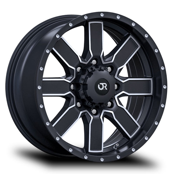RTX WHEELS - Steppe Black Machined - Garage MAD4X4