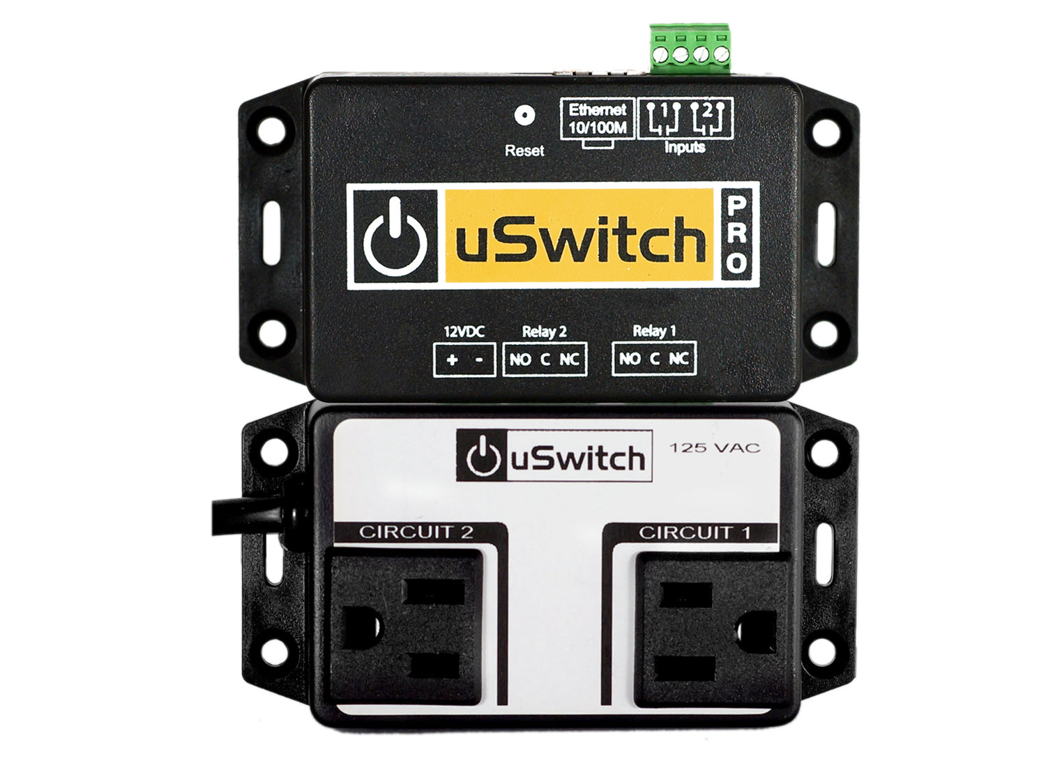 uSwitch A-Plug - No Need for Wiring or Splicing. Easily Snaps into on