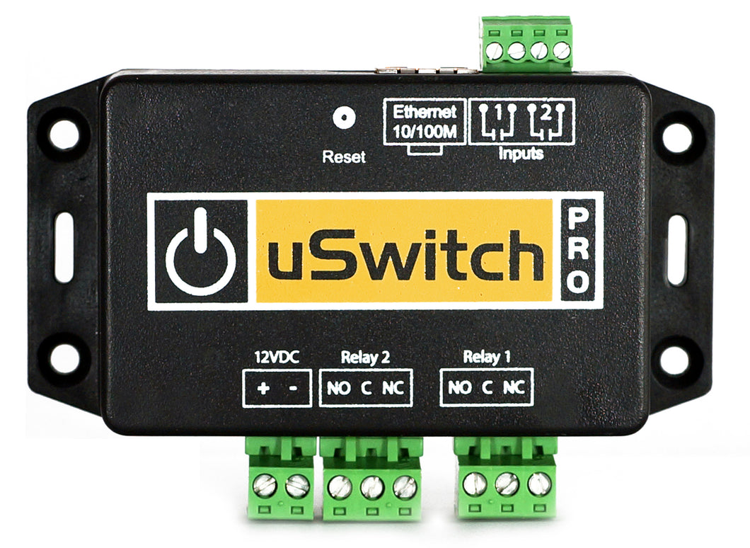 uSwitch Pro - User Customizable GPIO Inputs with Control at the Push of any Button