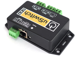 uSwitch Pro - User Customizable Ethernet GPIO Inputs with Control at the Push of any Button