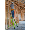 King Kombo Articulating Fiberglass Stepladder - Types 1AA