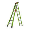 King Kombo Articulating Fiberglass Stepladder - Type 1AA