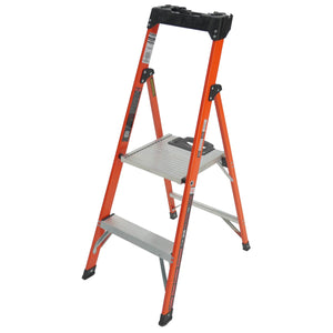 Quick-N-Lite Fiberglass Stepladder - Type 1