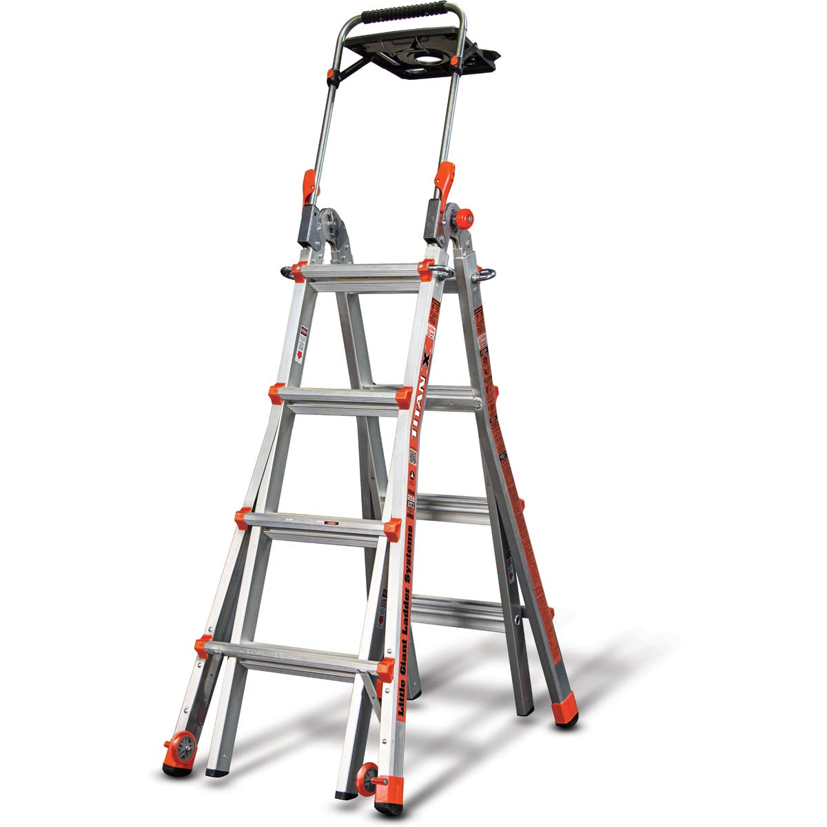 TitanX Ladder with AirDeck - Type 1 (Demo)