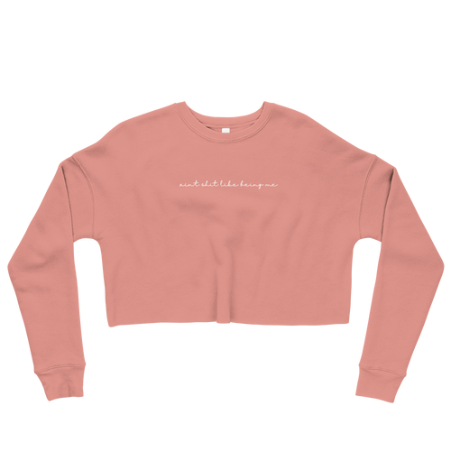 ASLBM Simply Living Fleece Cropped Sweatshirt