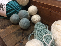 Ali Boudewyn Tumblies - Wool Dryer Balls