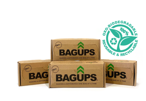 BagUps biodegradable garbage bags