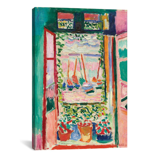 Open Window at Collioure (1905) by Henri Matisse Canvas Print - UNQFurniture