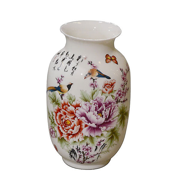 Floral Vase 8.5in - UNQFurniture