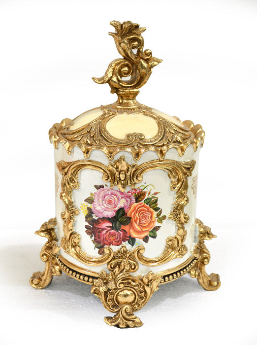 Triple Rose Trinket Box