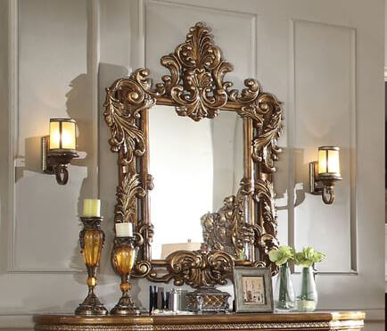 Seabrook Champagne Mirror
