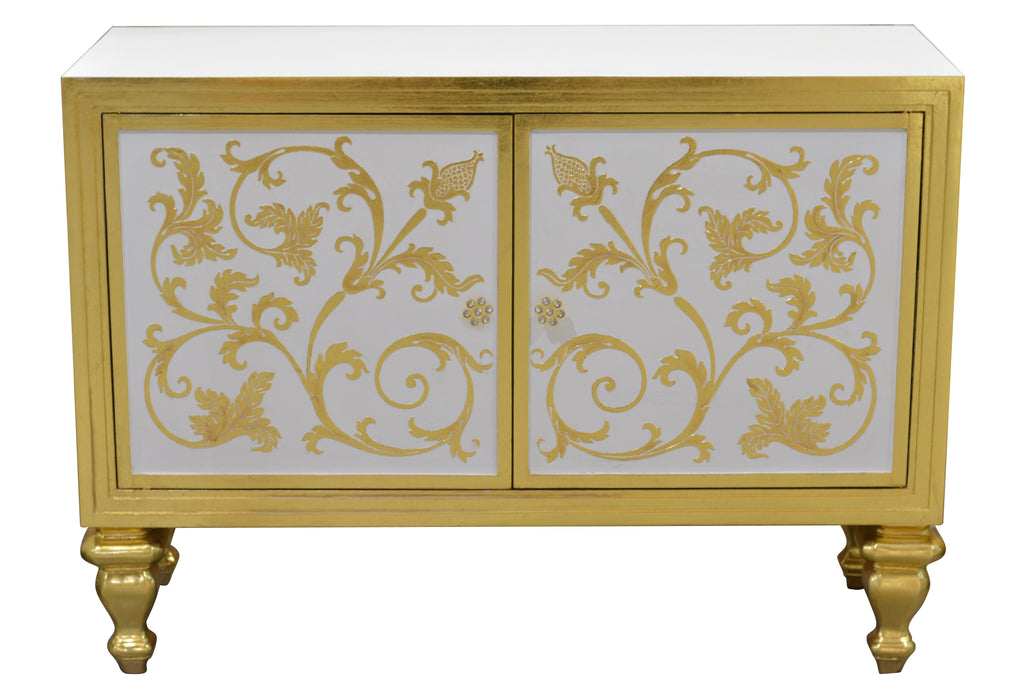 Golden Leaf Cabinet - UNQFurniture