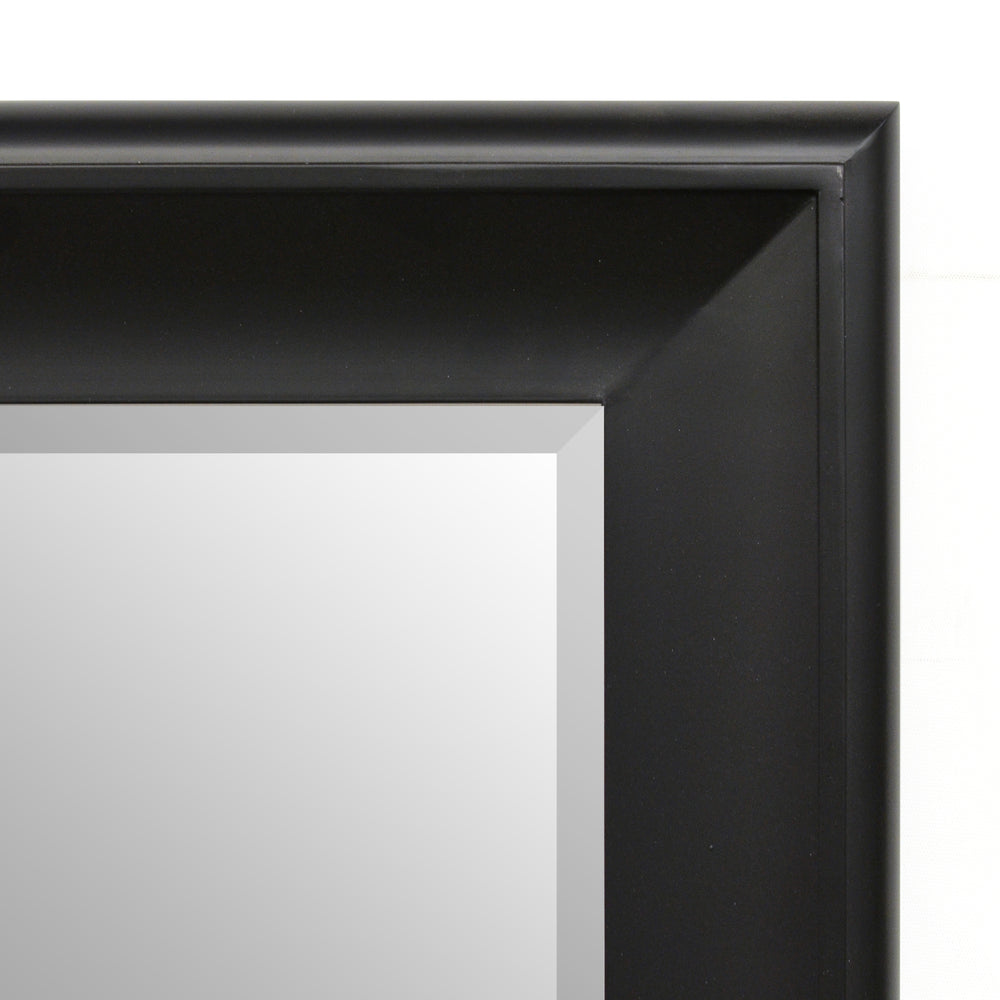 Baby Sterling Mirror 48X60 Flat Black