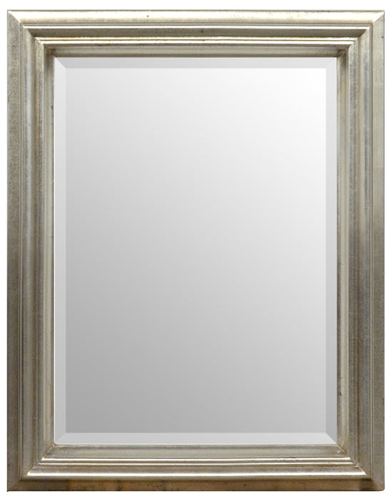 Simple Elegance Mirror 12X16 Silver
