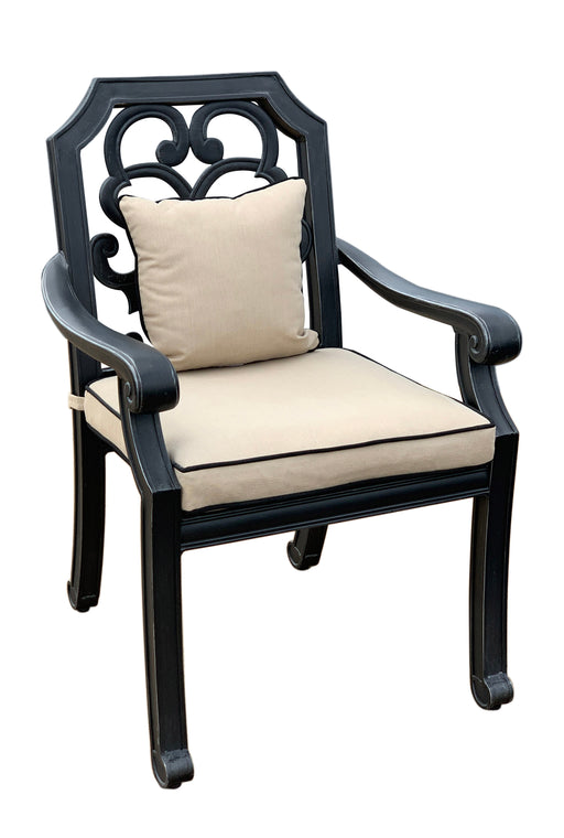 Astoria Dining Armchair with Accent Pillow