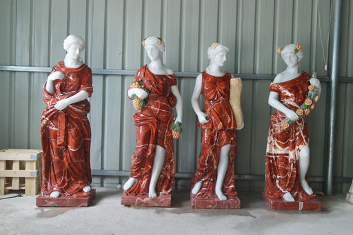 Four Season Red Marble Set GE18497
