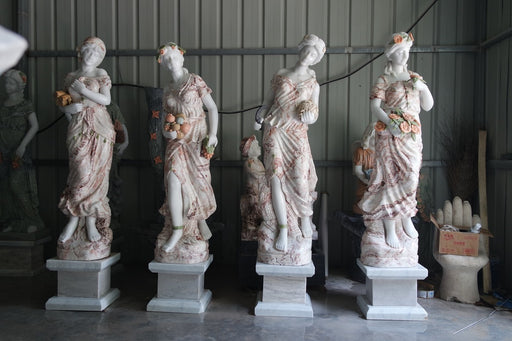 Four Seasons Statues Marble GE18775