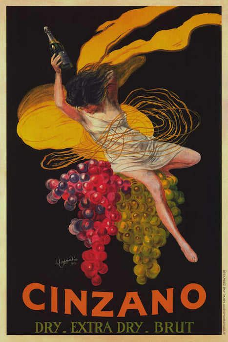 Asti Cinzano (Vintage) by Leonetto Cappiello Canvas Print - UNQFurniture