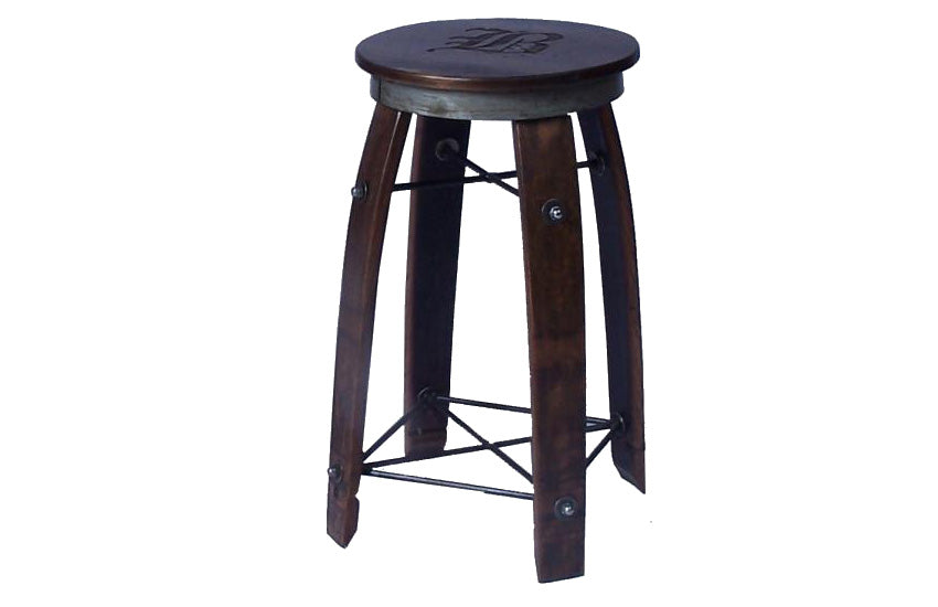 Daisy Stave Stool - UNQFurniture
