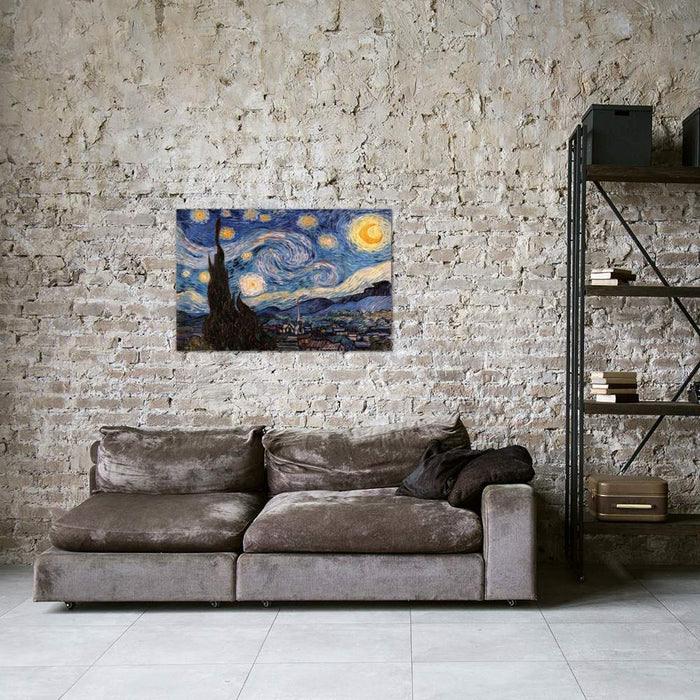 The Starry Night by Vincent van Gogh Canvas Print - UNQFurniture