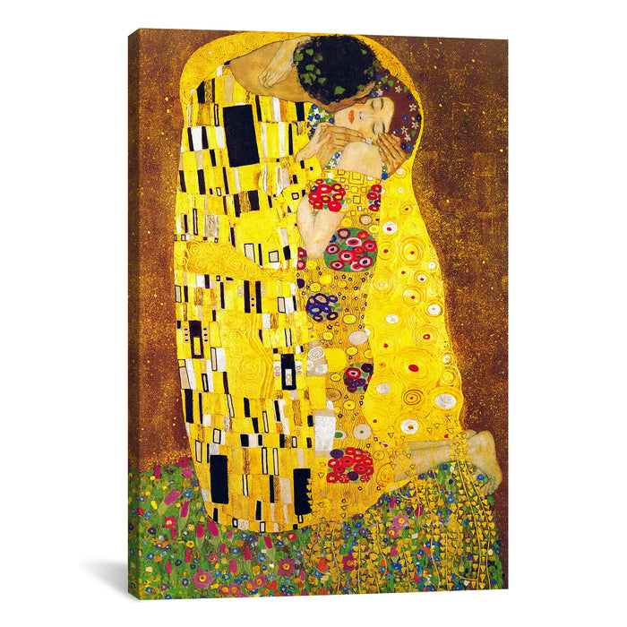 The Kiss by Gustav Klimt Canvas Print - UNQFurniture