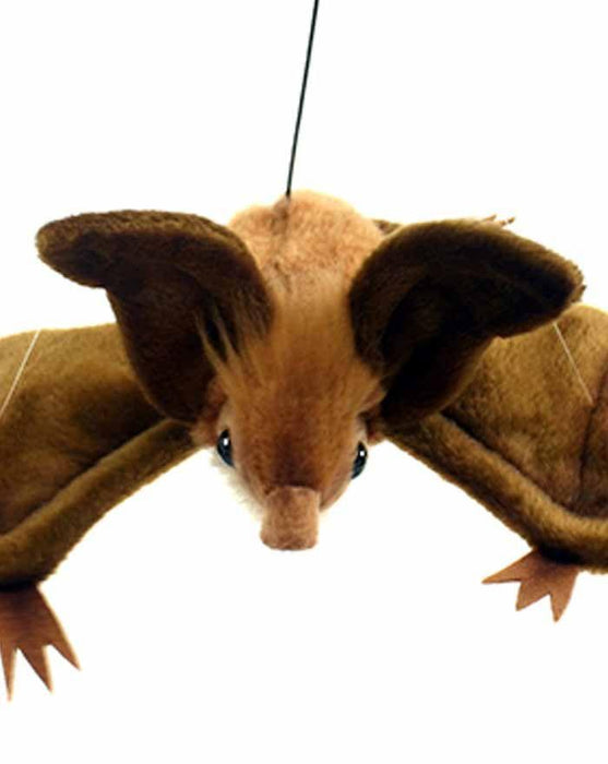 "Brown Hanging Bat 15"" - UNQFurniture"