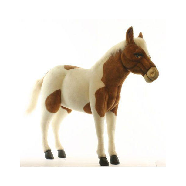 Pony Brown/White Ride-On 42'' - UNQFurniture