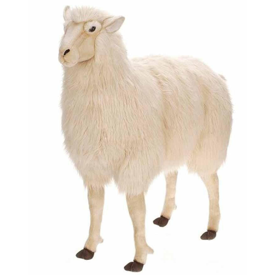 "Sheep Ride-On Bone Color 42"" - UNQFurniture"