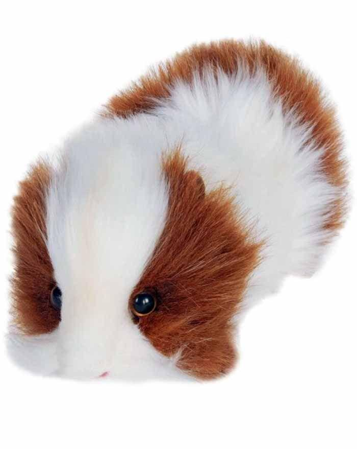 "Brown/White Guinea Pig 8"" - UNQFurniture"