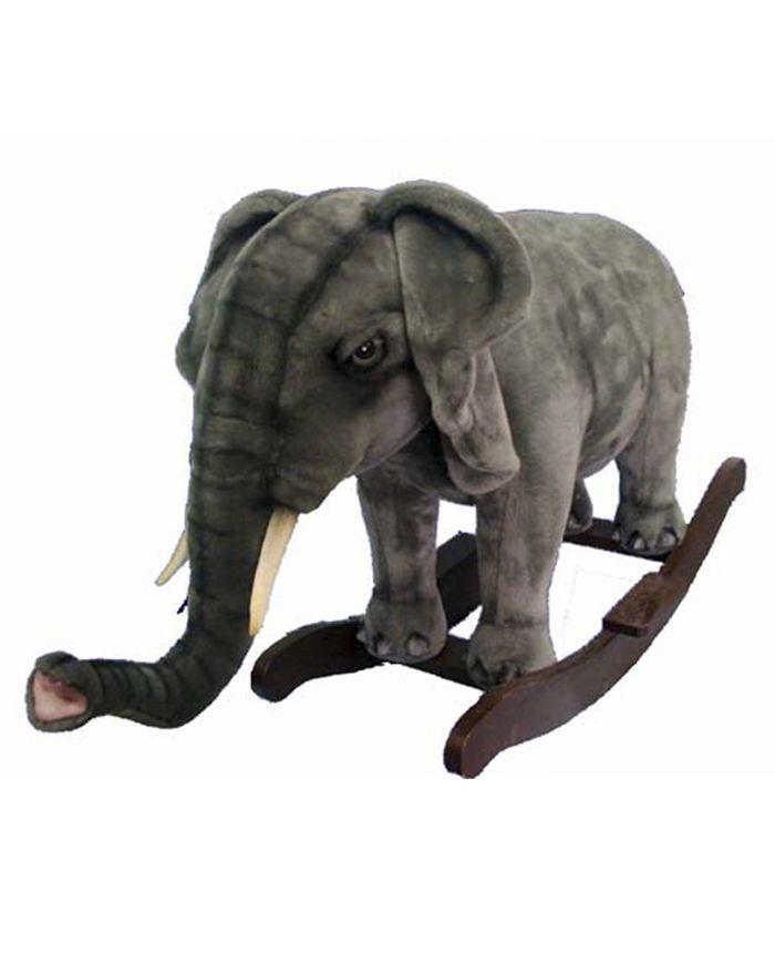 "Elephant Rocker 32""L X 24""H - UNQFurniture"