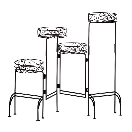 4-Tier Metal Plant Stand - UNQFurniture