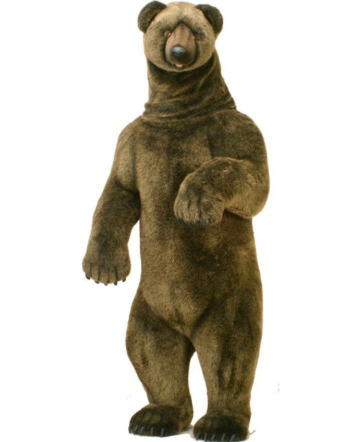 "Life-Size Grizzly Bear 76"" - UNQFurniture"